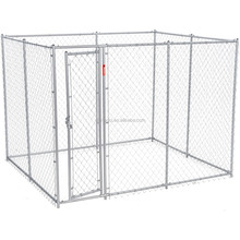 7.5X6X13ft factory Designer Dog Kennels/roof hot dip galvanized chain link mesh dog kennel