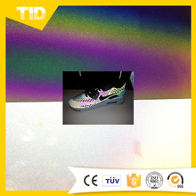 Rainbow Iridescent Reflective Sheeting /Rainbow Color Reflective Material Textile/Fabric