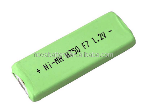 NI-MH F7 750mah 1.2v Rechargeable battery, Prismatic Cell
