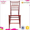 2015 Hot Selling Qingdao Sionfur white banquet and event hall wooden chiavari chair