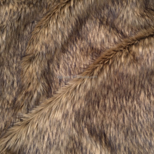 high quailty two-tones korea fake fur fabric