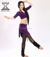 2015 Wuchieal New Design Belly Dance Top+Skirt (QC2282)