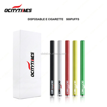 Ocitytimes vaporizer pen 500 puffs disposable e cigarette electronic cigarette