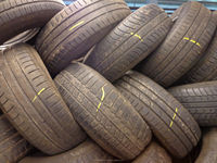 Used car tyres, 15 and 16 inch