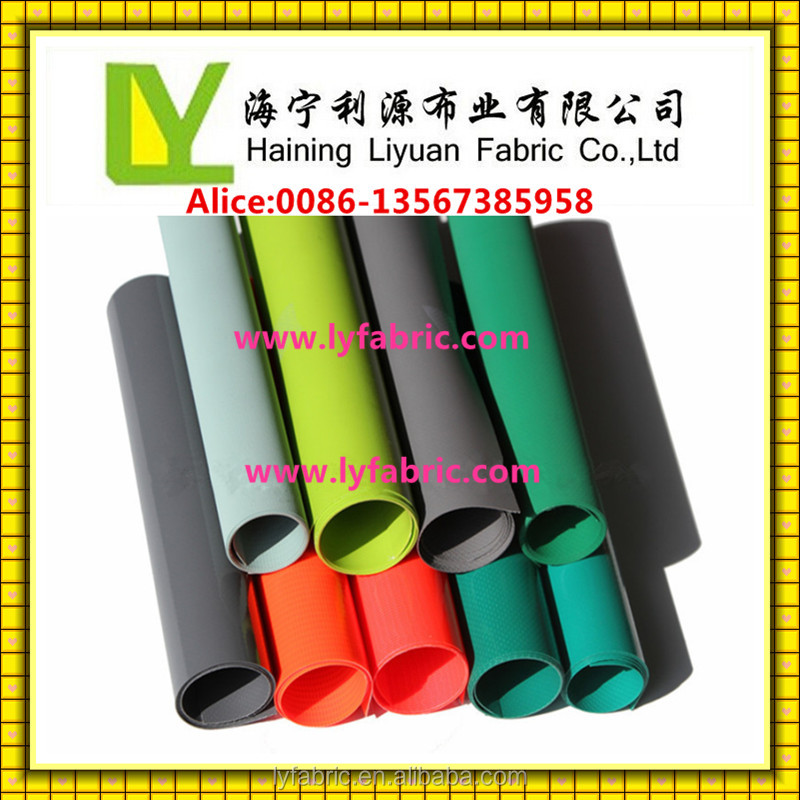 Fire Retardant PVC coated polyester fabric used for truck cover