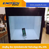Wholesale rental equipment for Transparent LCD showcase for replica watches advertising