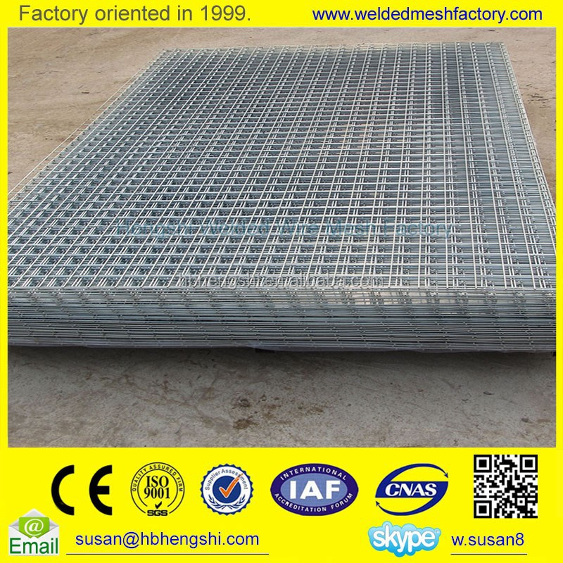 cheap 2x2 galvanized welded wire mesh for fence panel