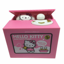 Hello Kitty Steal Coins Box Adorable Itazura Kitty Cat Burglar Piggy Coin Bank For Chrismas Gifts