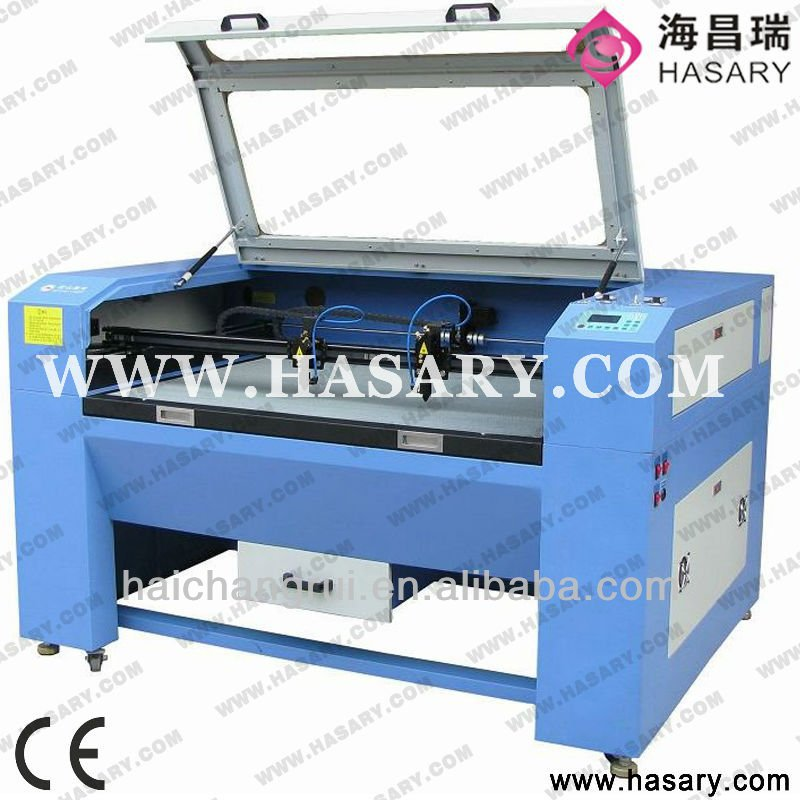 High speed co2 laser cut polar fleece fabric machine in low price