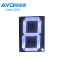 Hot Sale Gas Station Saving Energy LED Oil Screen Gold Supplier