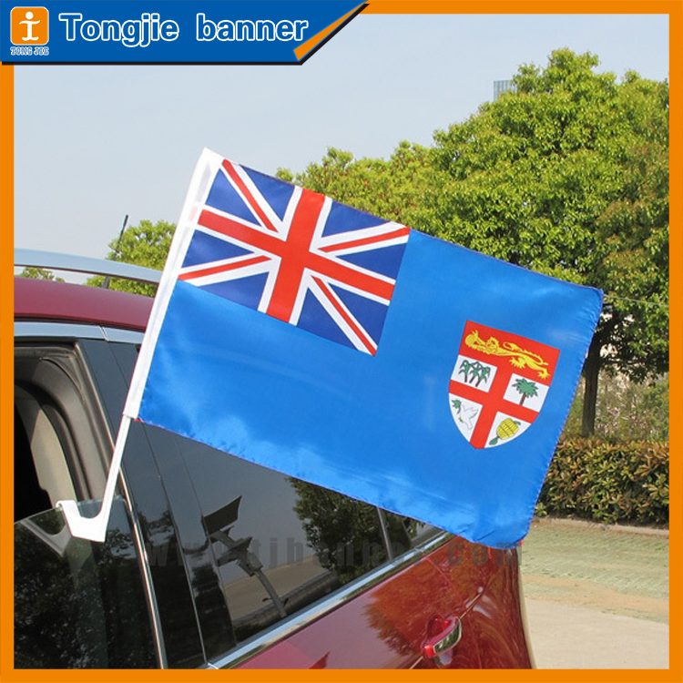 Top quality custom car flag,car window flag for advertising