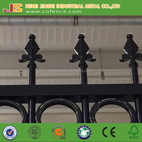 More Durable And Decorative Wrought Iron Fence Panels For Sale