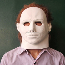 Custom Funny Sexy White Face Human Head Party Latex Rubber Masks