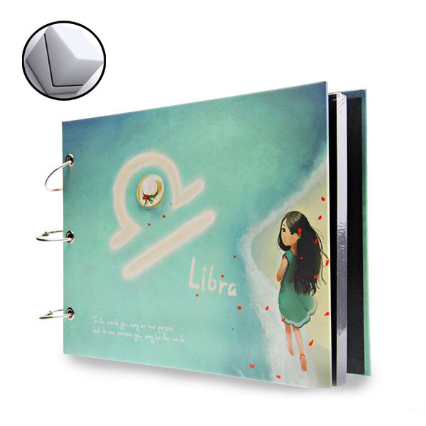 DIY creative new iterm paper photo album accept OEM order