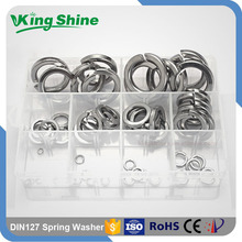 Non magnetic Iron Gi Spring Washer Double Coil Washer