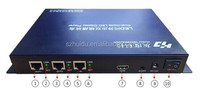 new product p6 indoor advertising video led display controller HD-A602