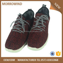 2016 Fashion and comfortable walking shoes flyknit shoes with competitive price