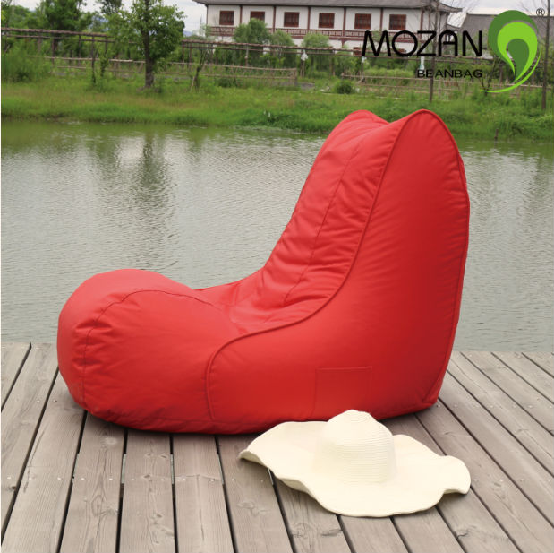 Durable fabric modern outdoor beach bean bag chair