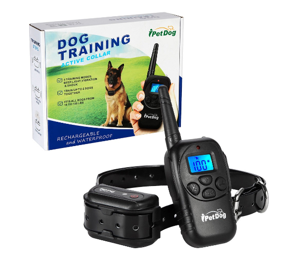 1000ft RangeRemote Dog Training Collar 100% Waterproof with Beep, Vibration and Shock Electronic Collar