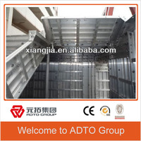 Good quality with 4mm aluminum composite panel building construction aluminium concrete form