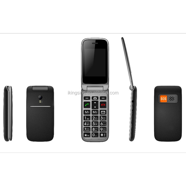 New products wholesale MTK6261 gsm older man cell phone big keyboard big speaker sos key senior mobile phone flip 32g+32g