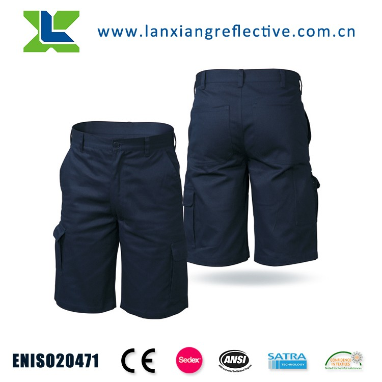 LX808 Cotton fabric cycling shorts cargo work pants