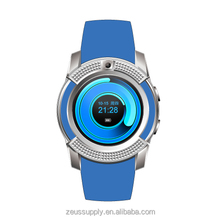 Bluetooth round V8 wholesale cheap mobile phones MTK6261D bluetooth smart watch Q10 Q18 Q8 GT08 M26 GV09 TW64 U8