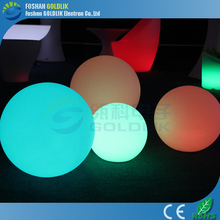 Outdoor hanging garden light ball rechargeable led glow balls GKB-050RT