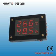LED thermometer Factory/warehouse /workshop monitor :Large LED display thermometer hygrometer visual themometer hygrometer