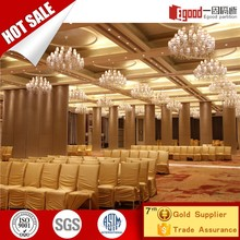 Ready Made Floor To Ceiling room divider Partition For Banquet Hall