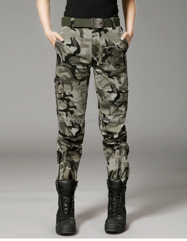 Cheap wholesale OEM multi-pocket outdoor casual pants military army trousers