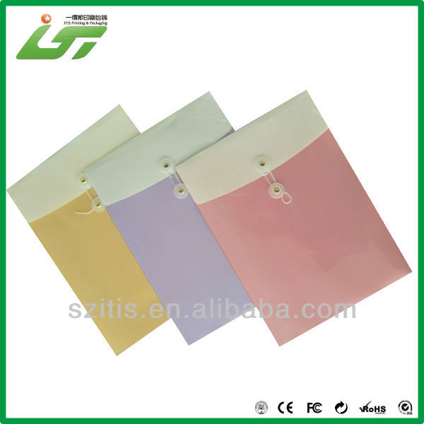 coloring string and button envelope printing company