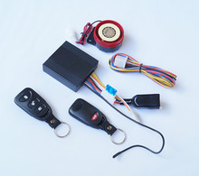 waterproof anti-hijacking motorcycle alarm/one way motorcycle alarm system
