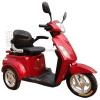 3 wheels 450w brushless motor 2013 lastest luxury 4 wheel electric mobility scooter china with 48v 20ah battery