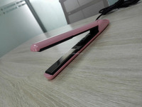 On&OFF Narrow Plate Pink Hair Flat Iron, Hair Straightener, Hair Iron