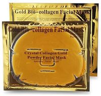 Crystal Gold Collagen Face Facial Mask Bio - Powder Anti Wrinkle Moisture Skin