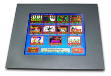 19'' touch screen monitor for Pot O Gold and WMS gaming with bezel