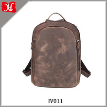 New Fancy Vintage Italian Leather Backpack Genuine Leather Backpack Manufacturers Wholesale
