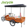 mobile food trailer/coffee vending bicycle
