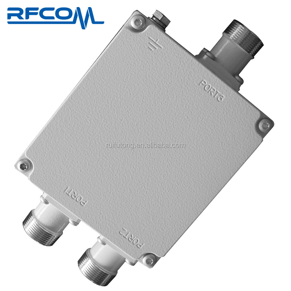 Low PIM LTE 2 way RF signal Power Combiner Dual band Diplexer Combiner IP67