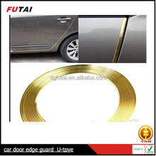 COLOR ORO FORMA de U CAR DOOR EDGE PROTECTOR