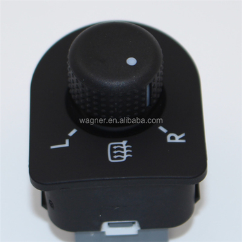 High quality new brand heatable Electric Mirror switch For Skoda Octavia 1996-2010 oem 1U1959565L