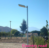 2016 new products adjustable garder lamp, solar led street light 20w 30w 40w all in one solar street light