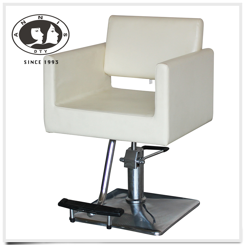 DTY quality guarantee comfortable seats hair products height adjustable salon chair with hydraulic base