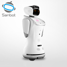 Sanbot voice controlled interactive intelligent commercial service automation robot