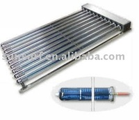 antifreeze fluid pressurized heat pipe solar collector (keymark)