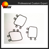 customize auto rubber parts, rubber diaphragm for auto