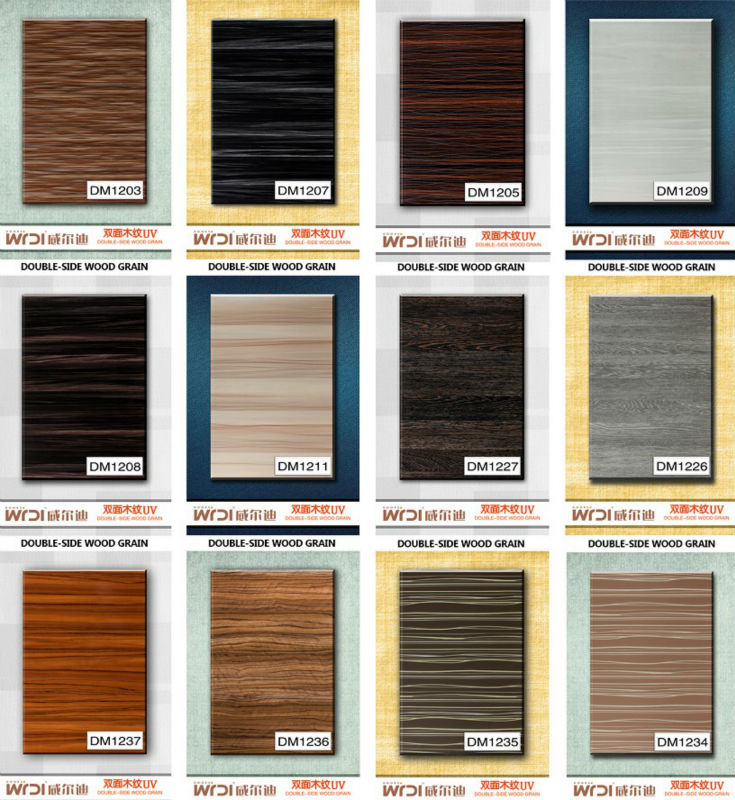 MDF wood color