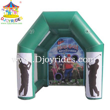 Outdoor Attractive Inflatable Indoor Mini Golf Game
