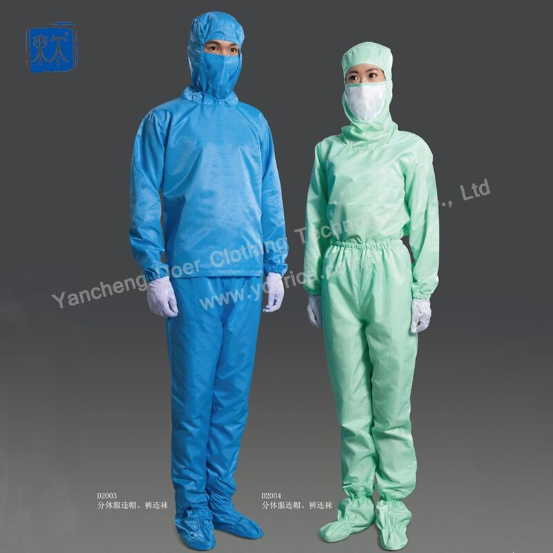 Antistatic Cleaning Smock, Protective Clothing